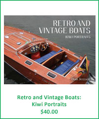 Retro & Vinage Boats: Kiwi Portraits