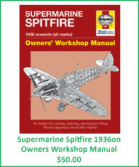 Supermarine Spitfire 1936on Owners Workshop Manual