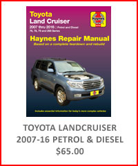 Toyota Landcruiser 2007-16 Repair Manual