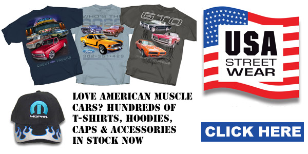 USA Streetwear - US muscle car clothing