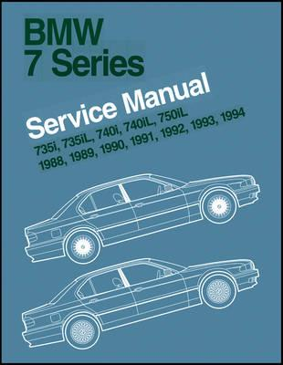 BMW 7 Series 1988-94 E32 Factory Service Manual 735 740 And 750 - Click Image to Close