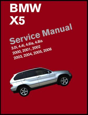 BMW X5 2000-06 Petrol Service Manual 3.0 4.4 4.6 4.8 - Click Image to Close