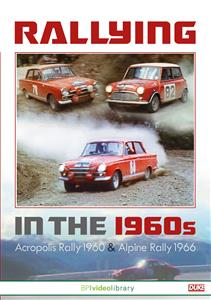 Rallying In The 1960s DVD PAL Region0 67mins - Acropolis Rally 1966 & Alpine Rally 1963