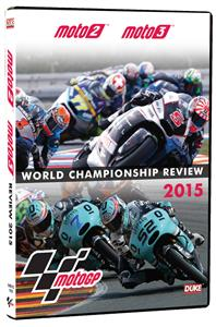 MotoGP Moto2 & Moto3 2015 Official Review DVD PAL Region0 197mins