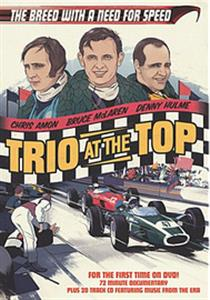 Trio At The Top The Breed With A Need For Speed DVD/CD McLaren Hulme Amon PAL 72mins OUT OF PRINT