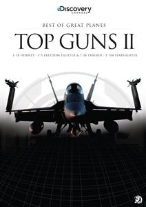 Best Of Great Planes Top Guns II 3DVD Set PAL Region4 170mins F-18 Hornet F-5 Freedom Fighter F-104 Starfighter OUT OF PRINT