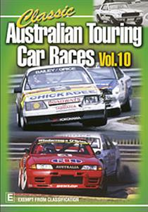 Classic Australian Touring Car Races Vol 10 DVD PAL Region4 120mins