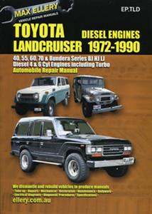 Toyota Landcruiser 1972-90 Diesel BJ/HJ/LJ Repair Manual