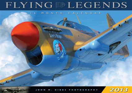 Flying Legends Calendar 2013 OUT OF PRINT