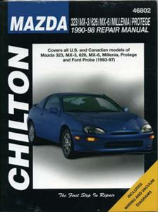 Mazda 323 MX3 626 MX6 Millenia Protege 1990-98 Repair Manual
