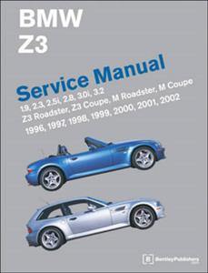 BMW Z3 Roadster 1996-2002 Service Manual