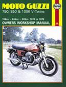 Moto Guzzi 750 850 & 1000 V-Twins 1974-78 Repair Manual