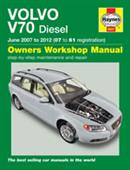 Volvo V70 2007-12 Diesel Repair Manual