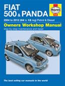 Fiat 500 & Panda 2004-2012 Repair Manual DUE 2ND HALF OF 2012