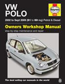 VW Polo 2002-09 Repair Manual 1.2 1.4 Petrol Not FSI And 1.4 1.9 Diesels - Click Image to Close