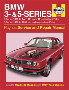 BMW 3 Series 1983-93 And 5 Series 1981-91 Repair Manual