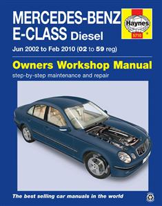 Mercedes Benz E Class Diesel 2002-10 Repair Manual