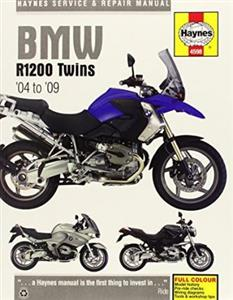 BMW R1200 2004-09 Repair Manual Cover GS GSAdv RT ST And S