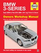 BMW 3 Series 2008-12 Repair Manual Petrol & Diesel - Click Image to Close