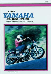 Yamaha 650cc Twins 1970-1982 Repair Manual