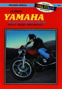 Yamaha XS750 & XS850 1977-1981 Repair Manual