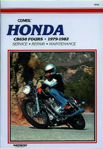 Honda CB650 Fours 1979-1982 Repair Manual