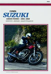 Suzuki GS650 1981-1983 Repair Manual