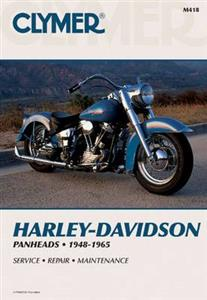 Harley Davidson Panheads 1948-65 Repair Manual