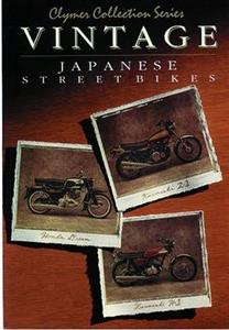 Vintage Japanese Street Bikes Repair Manual
