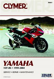 Yamaha YZF-R6 1999-2004 Repair Manual