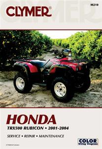 Honda TRX500 Rubicon 2001-2004 Repair Manual