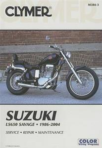Suzuki LS650 Savage Single 1986-2004 Repair Manual