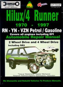 Toyota Hilux & 4Runner Petrol 1970-97 Repair Manual