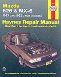 Mazda 626 and MX6 1983-1992 Repair Manual