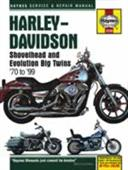 Harley Davidson Shovelhead & Evolution Big Twins 1970-99 Repair Manual OUT OF PRINT