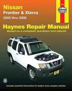 Nissan Frontier (NZ Navara) & Xterra 2005-08 Petrol Repair Manual