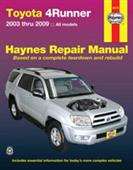 Toyota 4Runner 2003-09 Repair Manual Petrol Only