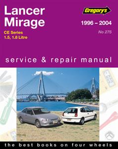 Mitsubishi Lancer And Mirage 1996-04 Repair Manual 1.5 And 1.8 Petrol