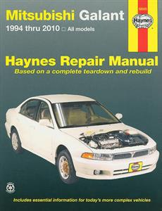 Mitsubishi Galant 1994-2010 Repair Manual 2.4, 3.0, 3.8