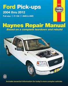 Ford F-150 Pickups 2004-12 Repair Manual