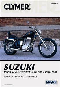 Suzuki LS650 Savage & Boulevard S40 1986-2007 Repair Manual