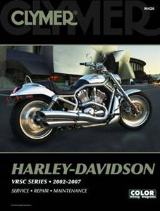 Harley Davidson VRSC Series 2002-2007 Repair Manual