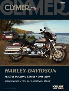 Harley-Davidson FLH/FLT Touring Series 2006-2009 Repair Manual