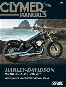 Harley-Davidson FXD/FLD Dyna Series 2012-2017 Repair Manual DUE LATE 2018