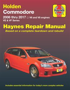 Holden Commodore VE & VF 2006-17 Repair Manual