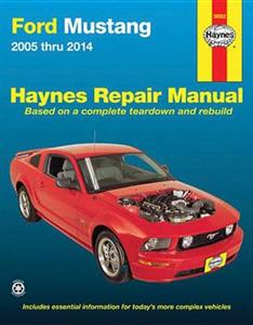 Ford Mustang 2005-14 Repair Manual