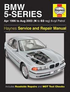 BMW 5 Series 1996-03 Repair Manual 6 Cylinder Petrol 520 523 525 528 530
