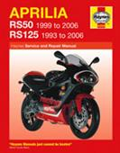 Aprilia RS50 1999-2006 & RS125 1993-2006 Repair Manual