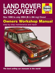 Land Rover Discovery 1999-04 Diesel Repair Manual 2.5 TD5 5 Cylinder Engine