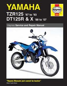 Yamaha TZR125 1987-93 & DT125R 1988-07 Repair Manual